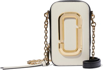 Marc Jacobs The Hot Shot Saffiano Leather Shoulder Bag