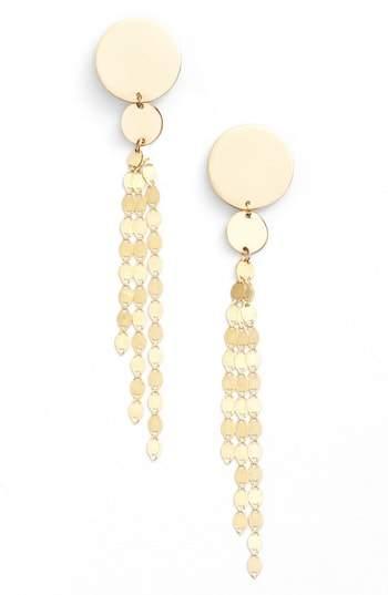 Lana Women's Disc Drop Earrings