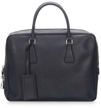 Prada Pre Owned Hanging Tag Briefcase