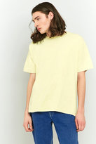Uo Overdyed Yellow T-shirt
