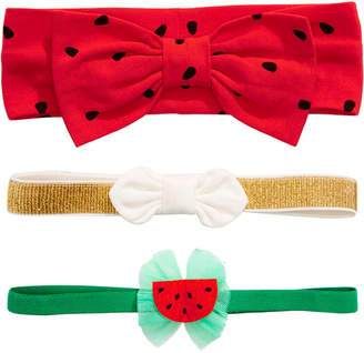 First Impressions First Impression Baby Girl Watermelon Headband Pack