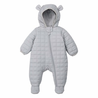 Newborn Baby Boy Girl Snowsuit Romper Coat Down Jacket Footed Jumpsuit Zipper Hooded Onesies Outfits Overalls 3-6 Months Light Weight
