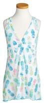 Pilyq Girl's Little Parker Print Cover-Up Dress