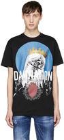 DSQUARED2 Black damnation T-shirt