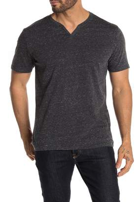 Public Opinion Short Sleeve Heathered Knit T-Shirt
