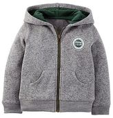 Just One You® made by Carter's Just One You Made By Carter's Toddler Boys' Hooded Sweatshirt - Gray