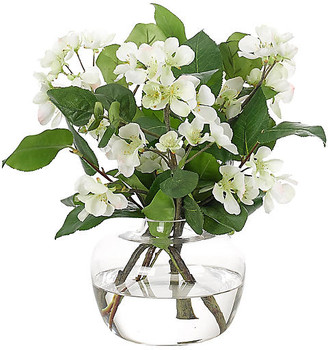 """15"""" Pear Blossom in Vase - Faux - NDI"""