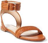Polo Ralph Lauren Jaime Nappa Leather Sandal