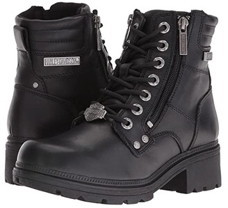 Harley-Davidson Inman Mills (Black) Women's Boots
