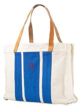 Cathy's Concepts Bridesmaid Gifts Striped Canvas Tote
