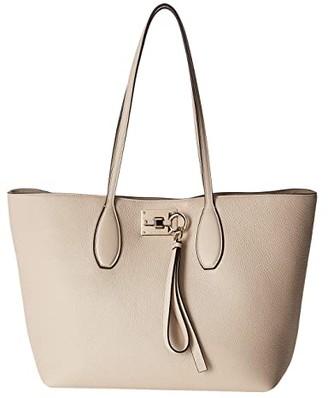Salvatore Ferragamo The Studio Tote (Bone) Handbags