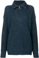 Etoile Isabel Marant oversized sweater - women - Acrylic/Polyamide/Viscose/Alpaca - 38