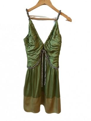 Chloã© ChloA Green Silk Dresses