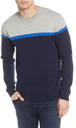 French Connection Core Slim Fit Colorblock Sweater
