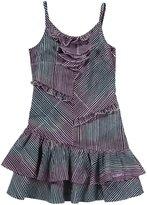 Diesel Daliza Ruffle Striped Dress - Striped - XXS