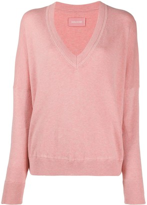 Zadig & Voltaire Brumy V-neck jumper