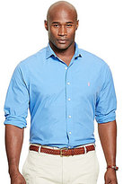 Polo Ralph Lauren Big & Tall Solid Poplin Woven Shirt