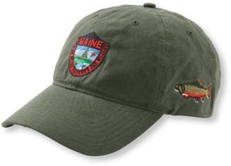 L.L. Bean Men's MIF and W Waxcloth Hat, Brook Trout