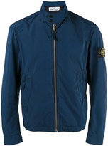 Stone Island banded collar cropped jacket