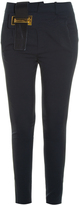 Anthony Vaccarello Metal Bar Trousers