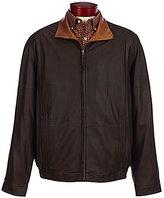 Daniel Cremieux Signature Brighton Light Leather Bomber Jacket