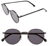 Komono Women's Taylor 50Mm Sunglasses - Matte Black