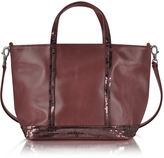 Vanessa Bruno Baby Cabas Leather Tote bag w/Sequins