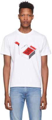 Carne Bollente White Fire Fire Fire T-Shirt