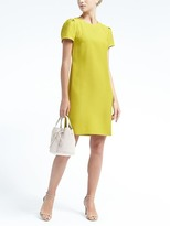 Banana Republic Rouched-Sleeve Shift Dress
