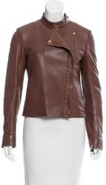 The Row Leather Moto Jacket