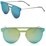 Spitfire 57mm Round Mirrored Sunglasses