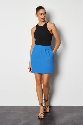 Tailored Track Mini Skirt