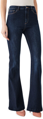 DL1961 Rachel High-Rise Flare Jeans