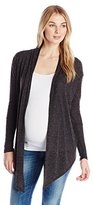 Three Seasons Maternity Women's Longsleeve Solid Cardigan