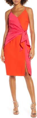 Harlyn Two-Tone Sheath Dress