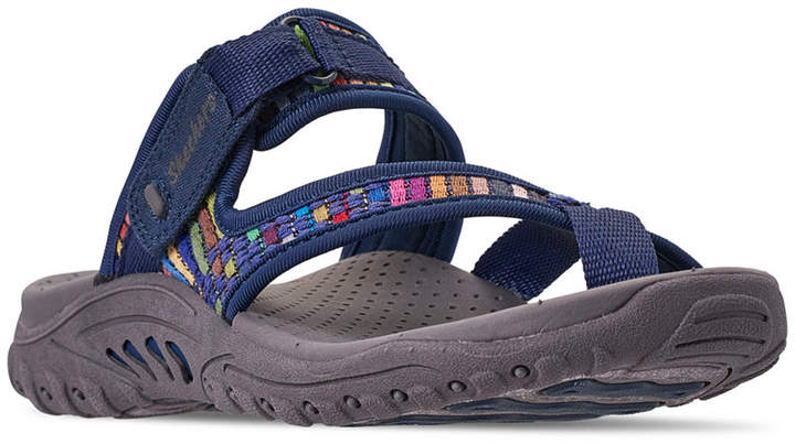 Skechers Women Reggae - Mad Swag Athletic Sandals from Finish Line