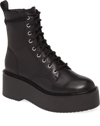 Steve Madden Twister Lace-Up Boot