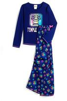 Komar Kids Girls 2-6x Two-Piece Temple Run Pajamas Set
