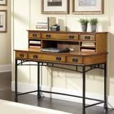 Home styles Modern Craftsman 2-pc. Executive Desk & Hutch Set