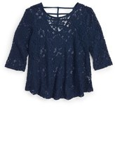 Hip Girl's Lace Tunic