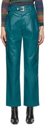 Simon Miller Green Barr Sack Waist Trousers