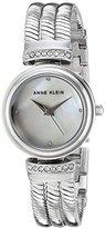 Anne Klein Women's Quartz Metal and Alloy Dress Watch, Color:Silver-Toned (Model: AK/2759MPSV)