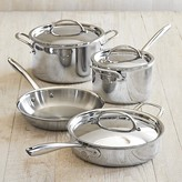 Williams-Sonoma Signature Thermo-CladTM Stainless-Steel 7-Piece Cookware Set