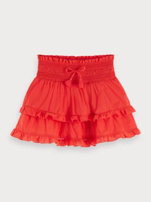 Scotch & Soda Ruffled Mini Skirt Keoni   Girls
