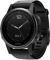 Garmin Unisex fenix 5s Sapphire Black Strap Analog-Digital GPS Smart Watch 42mm 010-01685-10
