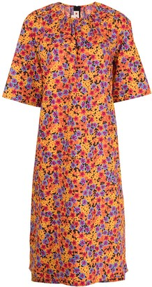 Marni Pop Garden-print shift dress