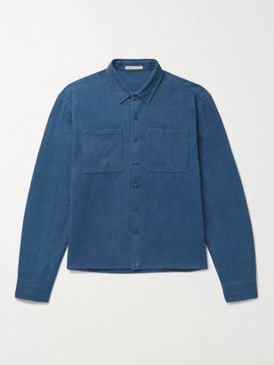 11.11/eleven eleven - Indigo-Dyed Denim Overshirt - Men - Blue