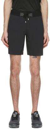 On Black Hybrid Shorts