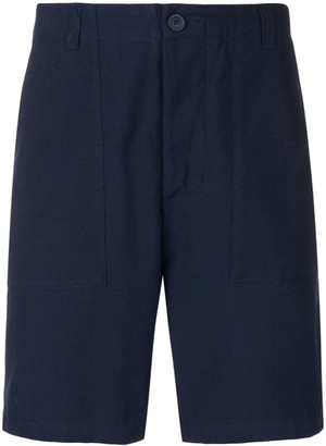 MAISON KITSUNÉ flap pocket shorts