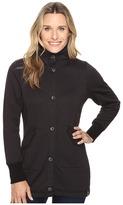 Woolrich Alpine Wool Fleece Long Coat